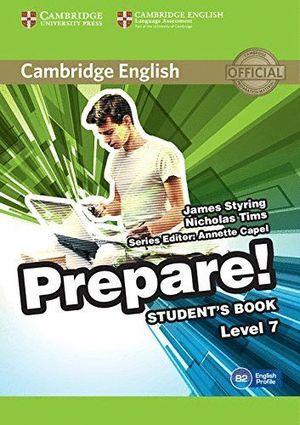 CAMBRIDGE ENGLISH PREPARE LEVEL 7 STUDENT'S BOOK