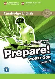 CAMBRIDGE ENGLISH PREPARE LEVEL 7 WORKBOOK WITH AUDIO