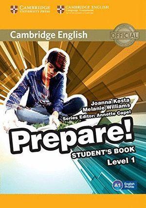 PREPARE LEVEL 1 STUDENT'S BOOK (A1)