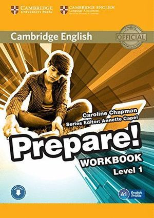 PREPARE LEVEL 1 WORKBOOK (A1) WITH AUDIO