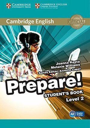 PREPARE LEVEL 2  STUDENT'S BOOK (A2)
