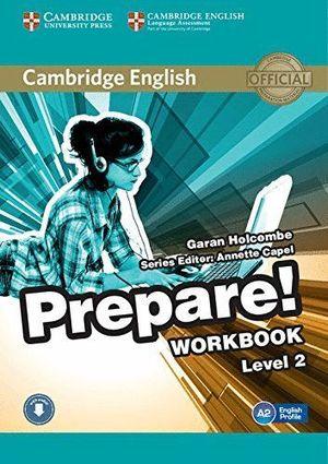 PREPARE LEVEL 2 WORKBOOK (A2) WITH AUDIO
