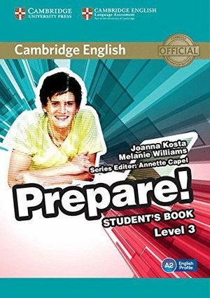 PREPARE LEVEL 3 STUDENT'S BOOK (A2)