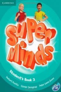 SUPER MINDS 3º EP STUDENT'S BOOK WITH DVD-ROM