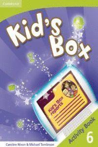 KID`S BOX 6ºEP WB 09