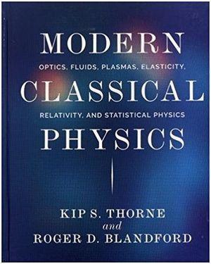 MODERN CLASSCIAL PHYSICS