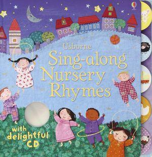 SING ALONG NURTSERY RHYMES +CD