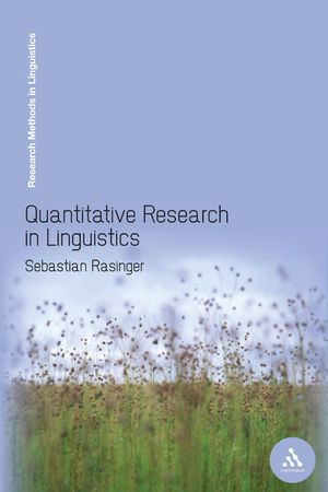 QUANTITATIVE RESEARCH IN LINGUISTICS