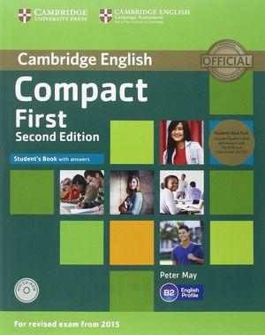 COMPACT FIRST STD PACK (STD.BOOK+KEY/CD-ROM+CLASS AUDIO CD 2)