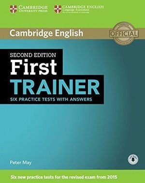 FIRST TRAINER. SECOND EDITION (2015)