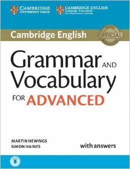 GRAMMAR AND VOCABULARY ADVANCED