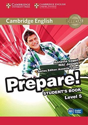 PREPARE! STUDENT'S BOOK LEVEL 5