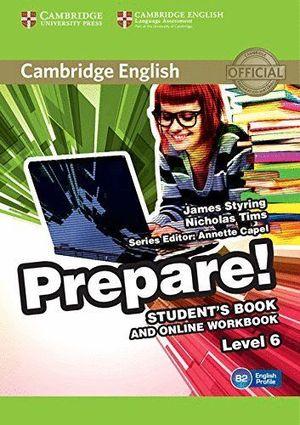 PREPARE! STUDENT'S BOOK AND ONLINE WORKBOOK
