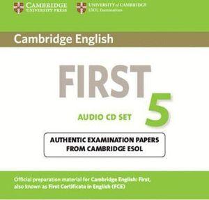 CAMBRIDGE ENGLISH FIRST 5 AUDIO CDS (2)