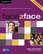 FACE 2 FACE UPPER INTERMEDIATE WORKBOOK WITH KEY