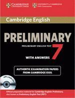 PRELIMINARY 7 WITH ANSWERS (+CD)