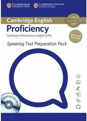 SPEAKING TEST PREPARATION PACK FOR CAMBRIDGE ENGLISH PROFICIENCY
