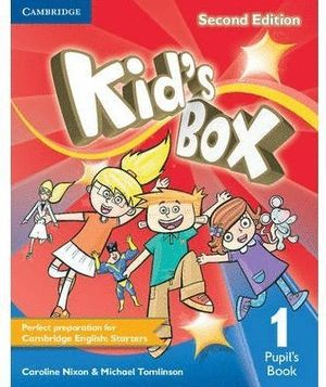 KID'S BOX LEVEL 1 PUPIL'S BOOK 2ND EDITION