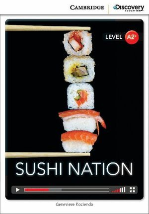 SUSHI NATION LOW INTERMEDIATE BOOK WITH ONLINE ACCESS