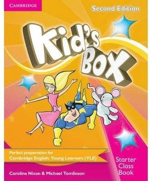 KID'S BOX STARTER CLASS BOOK WITH CD-ROM 2ND EDITION