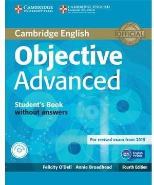 OBJECTIVE ADVANCED STUDENTS BOOK WITHOUT +CD 4TH ED.