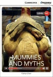 MUMMIES AND MYTHS BOOK WITH ONLINE ACCESS