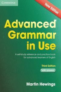 ADVANCED GRAMMAR IN USE WITH ANSWERS (3ED)