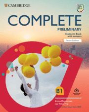 COMPLETE PRELIMINARY B1 STUDENTS BOOK WITH ANSWERS