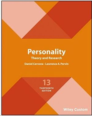 PERSONALITY. THEORY AND RESEARCH