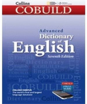 DICTIONARY COBUILD COLLINS OF ENGLISH ADVANCED 7ºED.