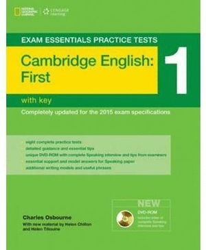CAMBRIDGE ENGLISH FIRST (FCE) 1 +CD WITH KEY