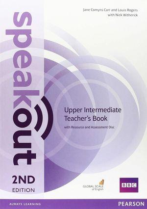 SPEAKOUT UPPER INTERMEDIATE TEACHER'S BOOK WITH 2ND (2016)