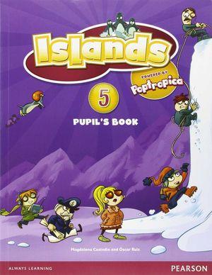 ISLANDS SPAIN 5 PACK PUPIL´S + READER: ISLAND HOPPING