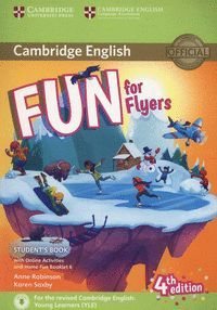 FUN FOR FLYERS STUDENT'S BOOK WITH ONLINE ACTIVITIES WITH AUDIO AND HOME FUN BOO