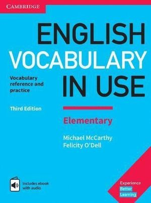 ENGLISH VOCABULARY IN USE. ELEMENTARY THIRD EDITION. BOOK WITH AN