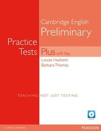 PRACTICE TESTS PLUS WITH KEY NE AND AUDIO CD PACK