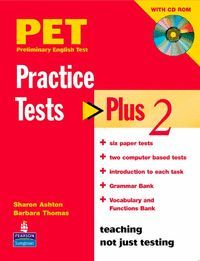 PRACTICE TESTS PLUS 2: BOOK WITH CD-ROM