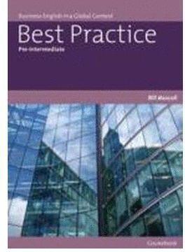 BEST PRACTICE PRE-INTERMEDIATE COURSEBOOK +CD