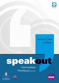 SPEAKOUT INTERMEDIATE WORKBOOK + KEY (CD)