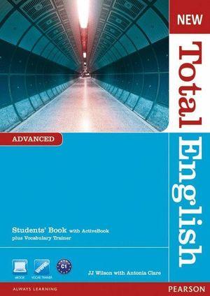 NEW TOTAL ENGLISH ADVANCED STD.+DVD