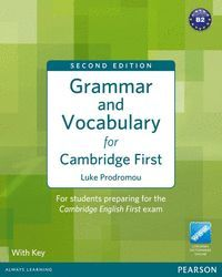 GRAMMAR & VOCABULARY FOR FCE 2ND EDITION WITH KEY + ACCESS