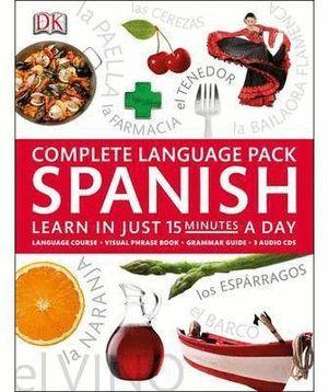 SPANISH COMPLETE LANGUAGE PACK