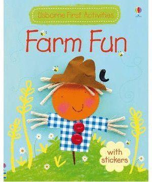 FARM FUN WITH STICKERS