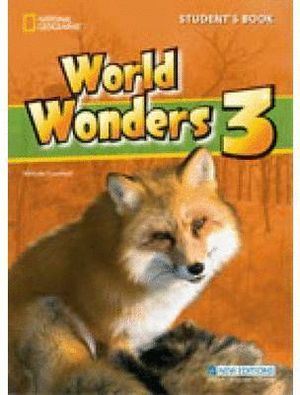 WORLD WONDERS 3 STUDENTS BOOK +CD