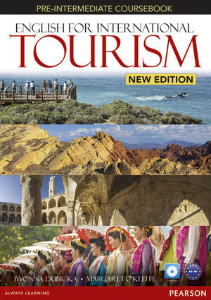 ENGLISH FOR INTERNATIONAL TOURISM PRE-INTERMEDIATE STD NEW EDITION COURSEBOOK AND DV