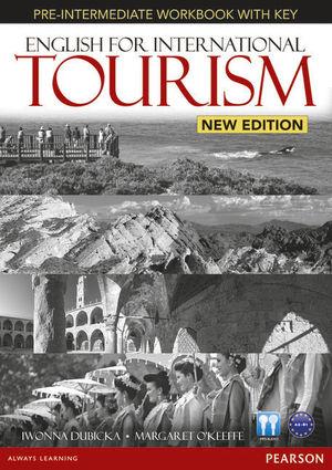 ENGLISH FOR INTERNATIONAL TOURISM PRE-INTERMEDIATE NEW EDITION WORKBOOK WITH KEY