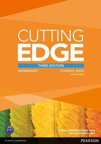 CUTTING EDGE INTERMEDIATE STUDENTS BOOK+DVD 3ºED.