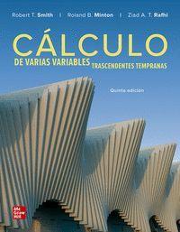 CALCULO DE VARIAS VARIABLES. TRASCENDENTES TEMPRANAS