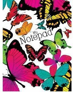 MY NOTEPAD BUTTERFLY (GB)