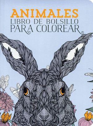 ANIMALES LIBRO DE BOLSILLO PARA COLOREAR